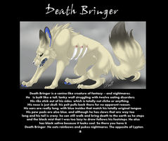 Death Bringer -- Quick Reference by InsaneRoman