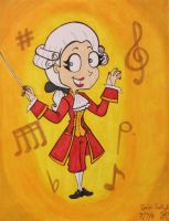 Adele Hertz dressed as Mozart by GabiSaKuRa