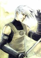 Kakashi without mask by airasan