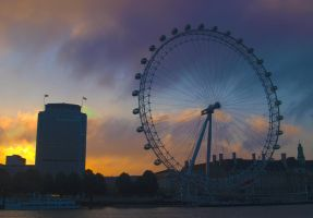 London eye HDR by liverecs
