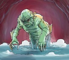 Creature from the black lagoon by playkill