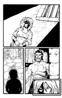 Fantasy Page 2 Inks by Bbedlam