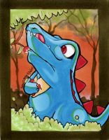 Totodile Artwork by karookachoo