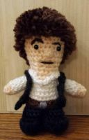 Star Wars New Hope Han Solo Amigurumi by AngelStern77