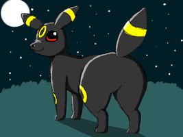 Umbreon Booty Doodle by BootyFox