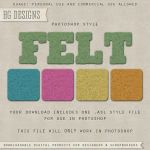PS Style: Felt by HGGraphicDesigns