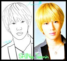 Taemin LineArt -my first- by annisaretry
