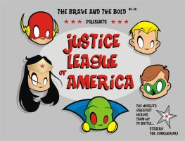 Heads Up Brave and Bold JLA by HeadsUpStudios
