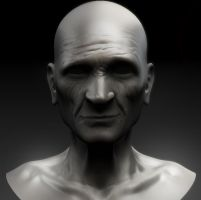 Old Man - W.I.P. by skullred