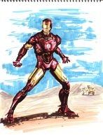 Iron man by A-BB