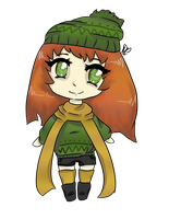 Adoptable Autumn Chibi : OPEN : by Queen-iee-oh