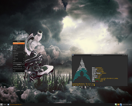 Arch Linux 2011-03-05 by Paaskehare