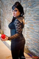 Evil Queen Regina Cosplay - Care for a Bite? by SparrowsSongCosplay