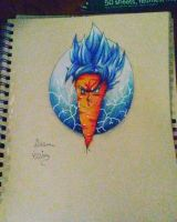 Goku the carrot by xprotector10