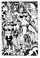 Big Barda in trouble... by AllPat