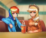 Cool cafe girls by RacoonKun