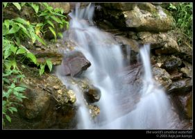 The world's smallest waterfall by sharq