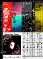 Photoshop Brushes Pack 1 by Coby17
