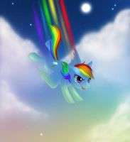 Let's rainboom by Vulpeca