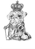 King Pug by Doomsday90