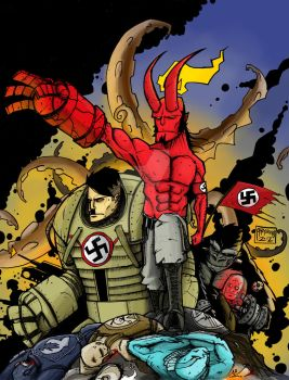 Hellboy - What if... by Abyssmosis