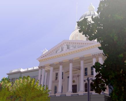 The Ubiquitous California State Capital by my-art-rebirth