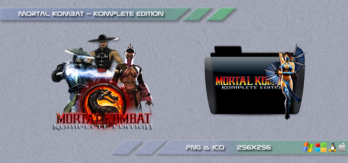 Mortal Kombat Komplete Edition Dock Icon by Dohc-WP