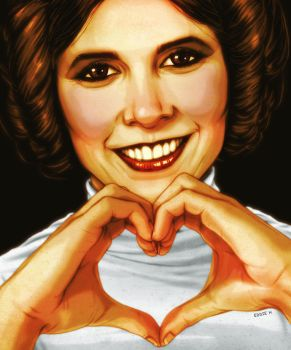Princess Love - Leia by EddieHolly