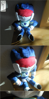 TF - little G1 Soundwave plush by Acrosanti