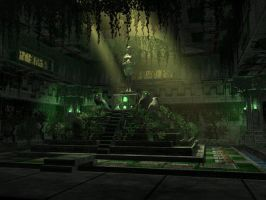 Owl Clan Temple by RedHeretic