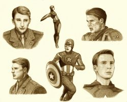 Captain America by ShadowSeason