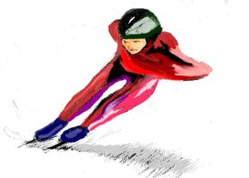 Speed Skater by philippeL