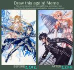 Draw this again Meme by ChalkTwins