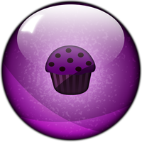 Muffin Button by SuperBillyJilly