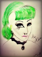 Ava Adore portrait by Gothchick1995