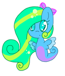Sea Pony OC: Sedna by TurtleLogic