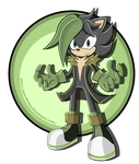Ashley the shadow hedgehog Updated by PencilTales