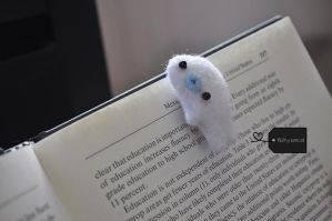 Mamegoma bookmark! by FluffyParcel