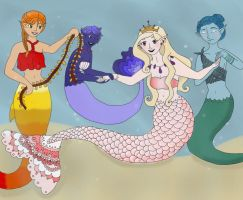 Mermaids by AVPMismylife
