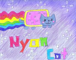 Nyan Cat by OctagonEyes