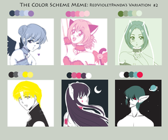 Color Scheme Meme ft the Mews! by Amai-Kawaii