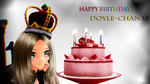|HBD Doyle-Chan! by LoverCathy