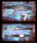 Assault Rifle Star Trek 6 Style by Euderion
