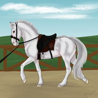 Blanches Tack Training by blanjojo