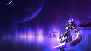 Dark Valkyrie Diana Wallpaper by Misieq