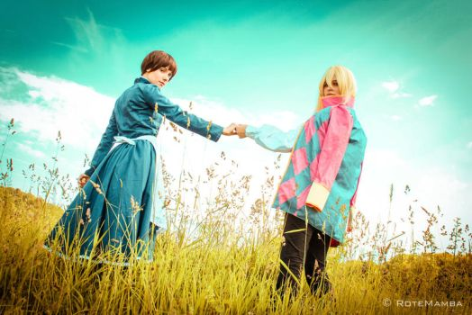 Ghibli - Howl's Moving Castle by RoteMamba