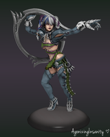 Tira: Soul Calibur V by AgonizingInsanity