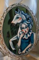 Mirror Detail 2 by puppeteer-for-kings