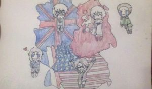 East and West Germany by TheIvoryPrincess