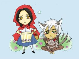 Little Red Riding Mage by DreamerTakako